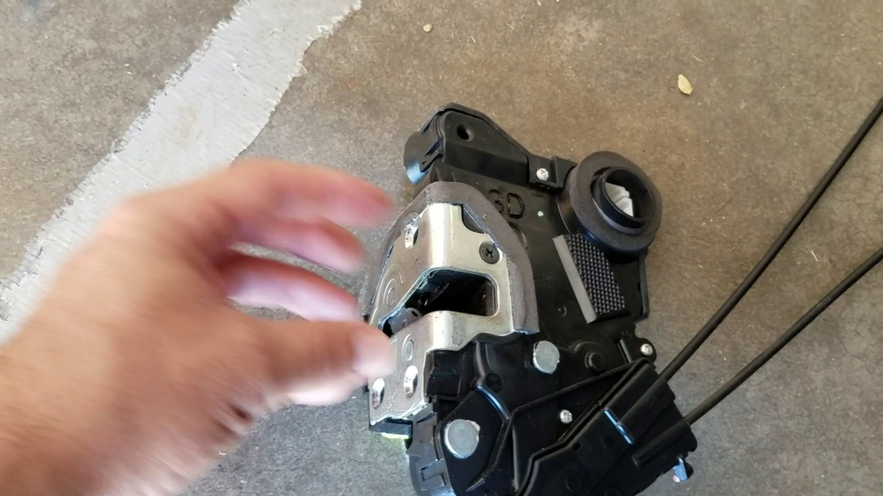 Prius Door Lock Actuator Diy Fix 3 Gen Youtube