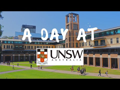 First Day Back At Uni I UNSW