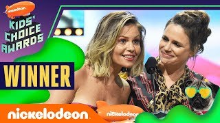 Fuller House Wins   Candace Cameron Bure & Cast Give Inspiring Speech   2019 Kids' Choice Awards