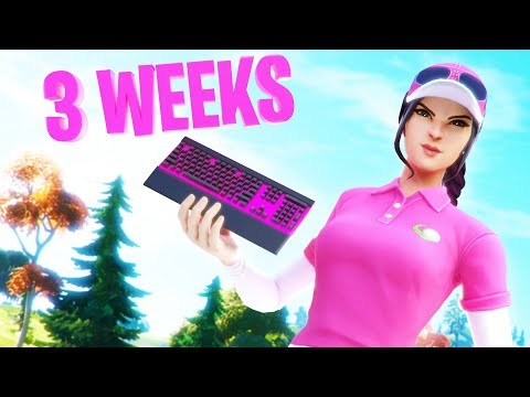 21 Days Progression From PS4 To PC (Controller To Keyboard & Mouse) Fortnite Battle Royale