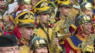 VII Международный военно-музыкальный фестиваль «Амурские волны-2018» Дефиле представление