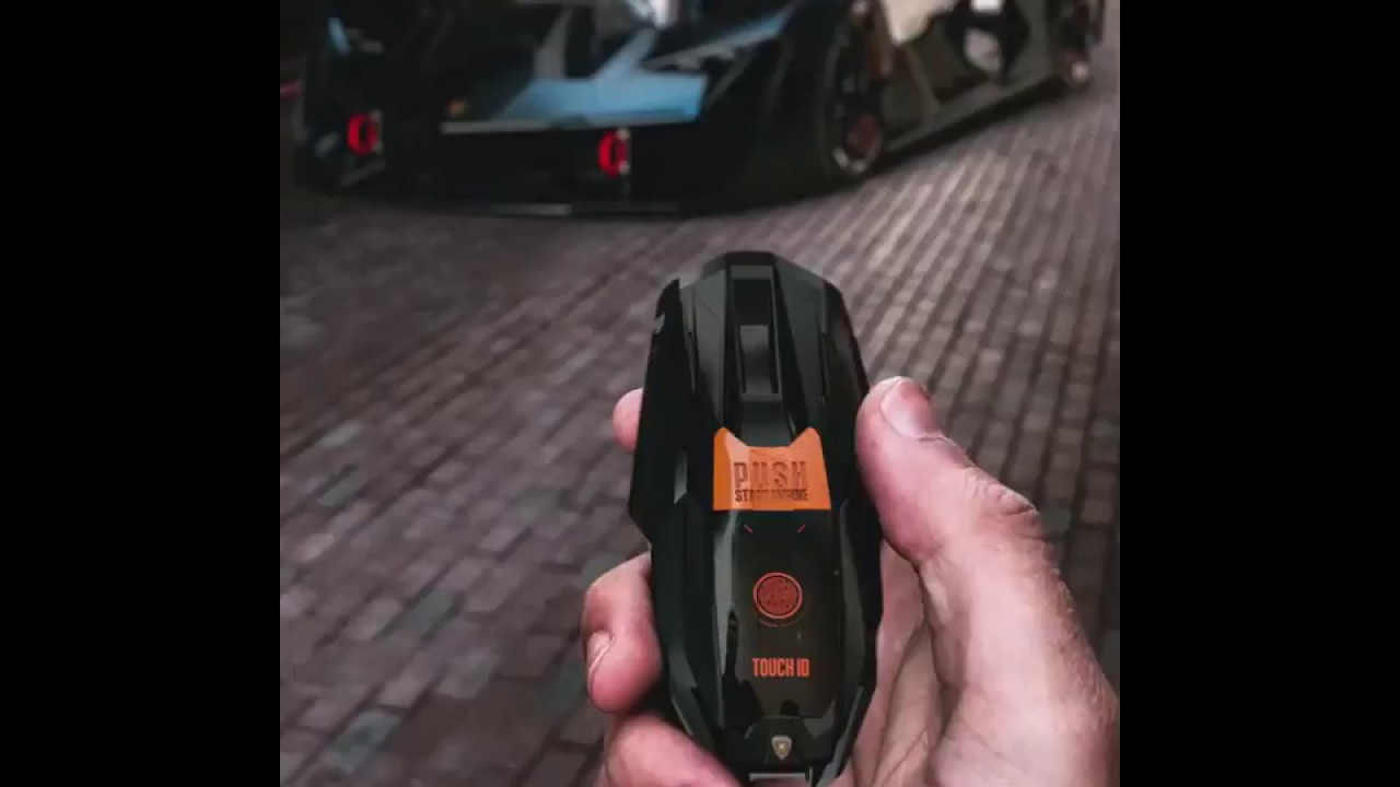 Concept Key For Lamborghini Terzo Millennio Youtube