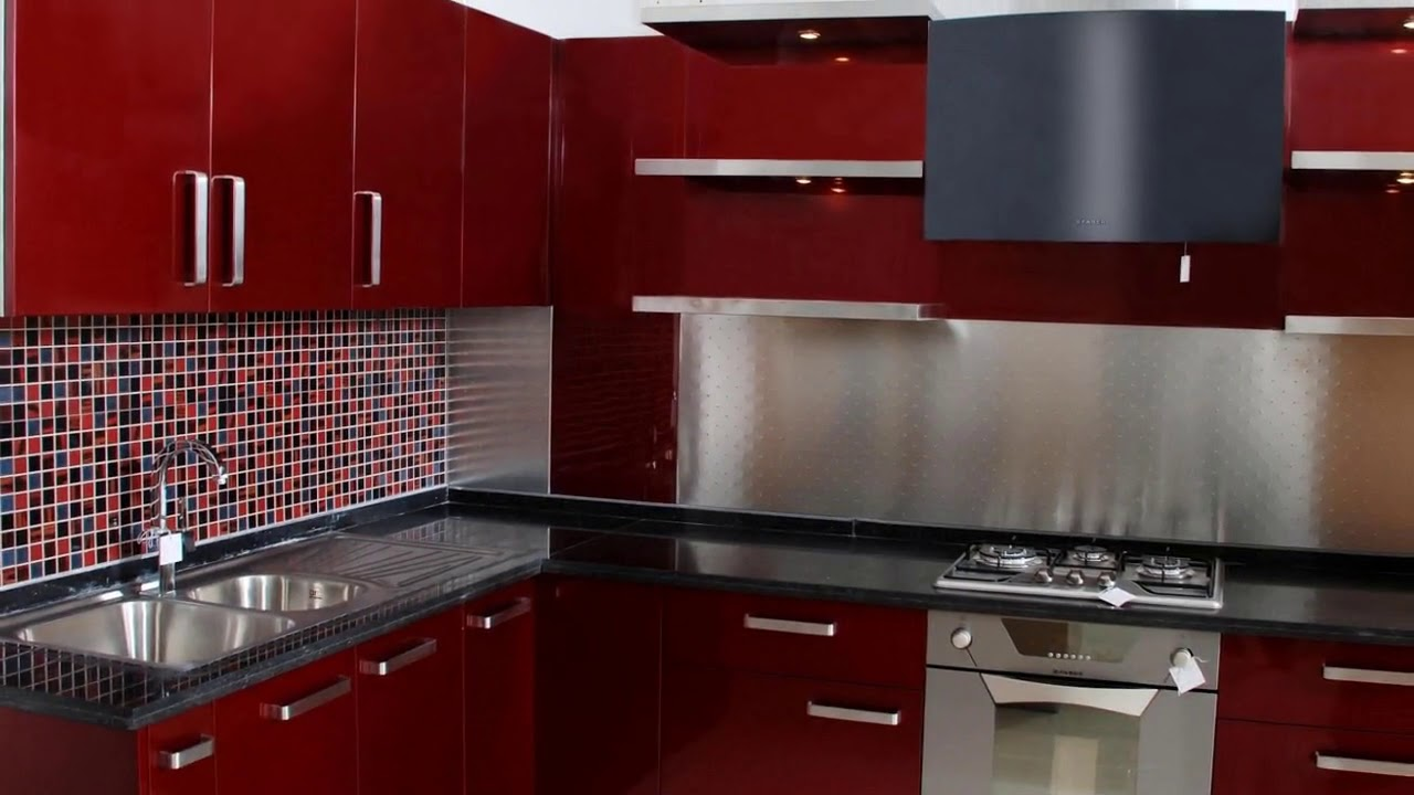 Stainless steel modular kitchen cabinets in india