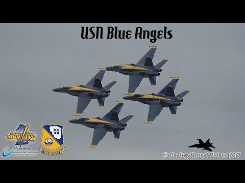 Thunder Over Michigan 2017- USN Blue Angels and Closing