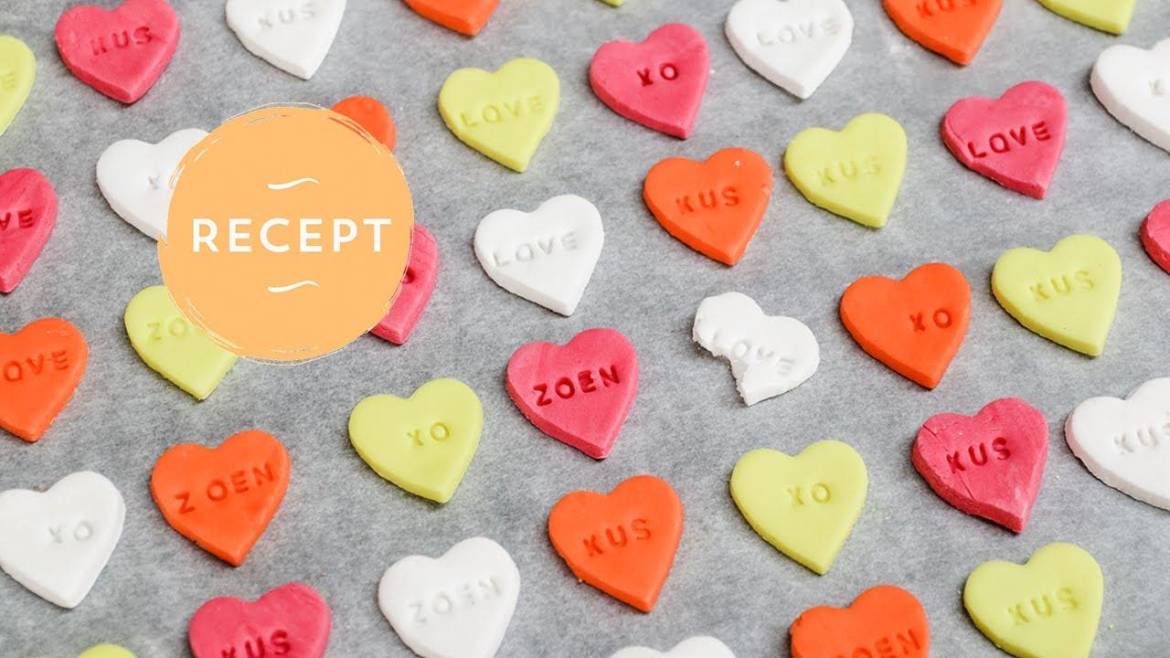 Verrassend Snoephartjes maken - Je eigen persoonlijke hartjes snoepjes met RK-16
