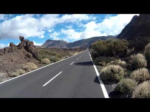 Tenerife Cycling Nov. '14 (1/2) - Puerto d.Santiago (0 m) - Chio (680 m) - Teleférico Teide (2356 m)