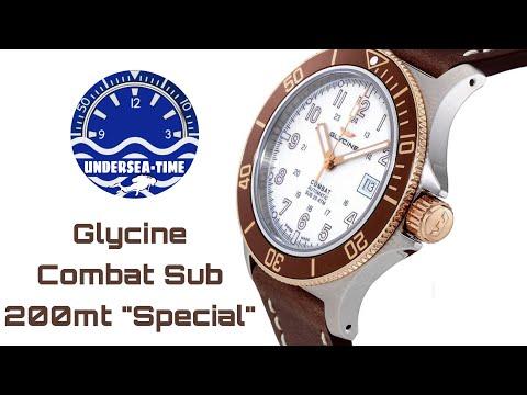 """Glycine Combat Sub 200mt """"Special"""" - Review ITA"""