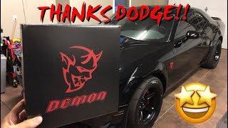 DODGE DEMON PERFORMANCE MANUAL REVIEW