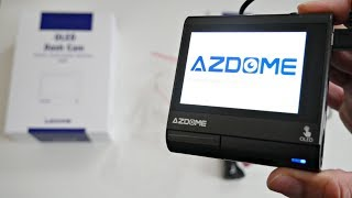 Worlds first Dash camera with an OLED touch screen - ADZOME M05