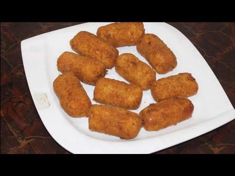 معقود-البطاطا-بأبسط-المقادير(4-حبات)أكل-سريع-و-خفيف-يعشقه-الأطفال-croquettes-(potato-finger)