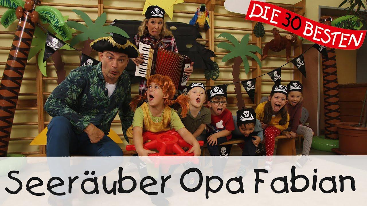Seeräuber Opa Fabian - Singen, Tanzen und Bewegen || Kinderlieder