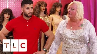 """Laura And Aladin Go Dress Shopping: """"I Look Like A Goodyear Blimp!"""" 