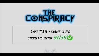 Criminal Case - The Conspiracy, Case 18 - Game Over