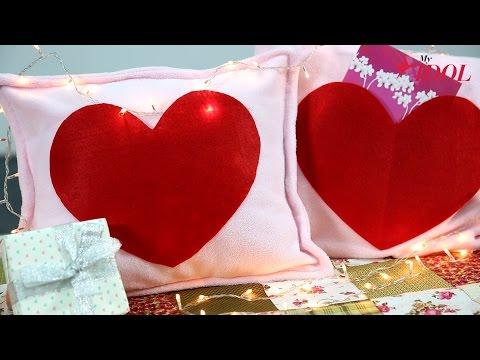 Quà Valentine: Làm gối xinh tặng người yêu