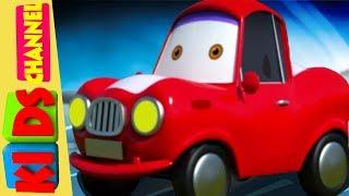 Çocuk Kanalı Tarafından Çocuklar İçin Bebek Kırmızı Araba | Çekici Kamyon | Çizgi Film Şarkı