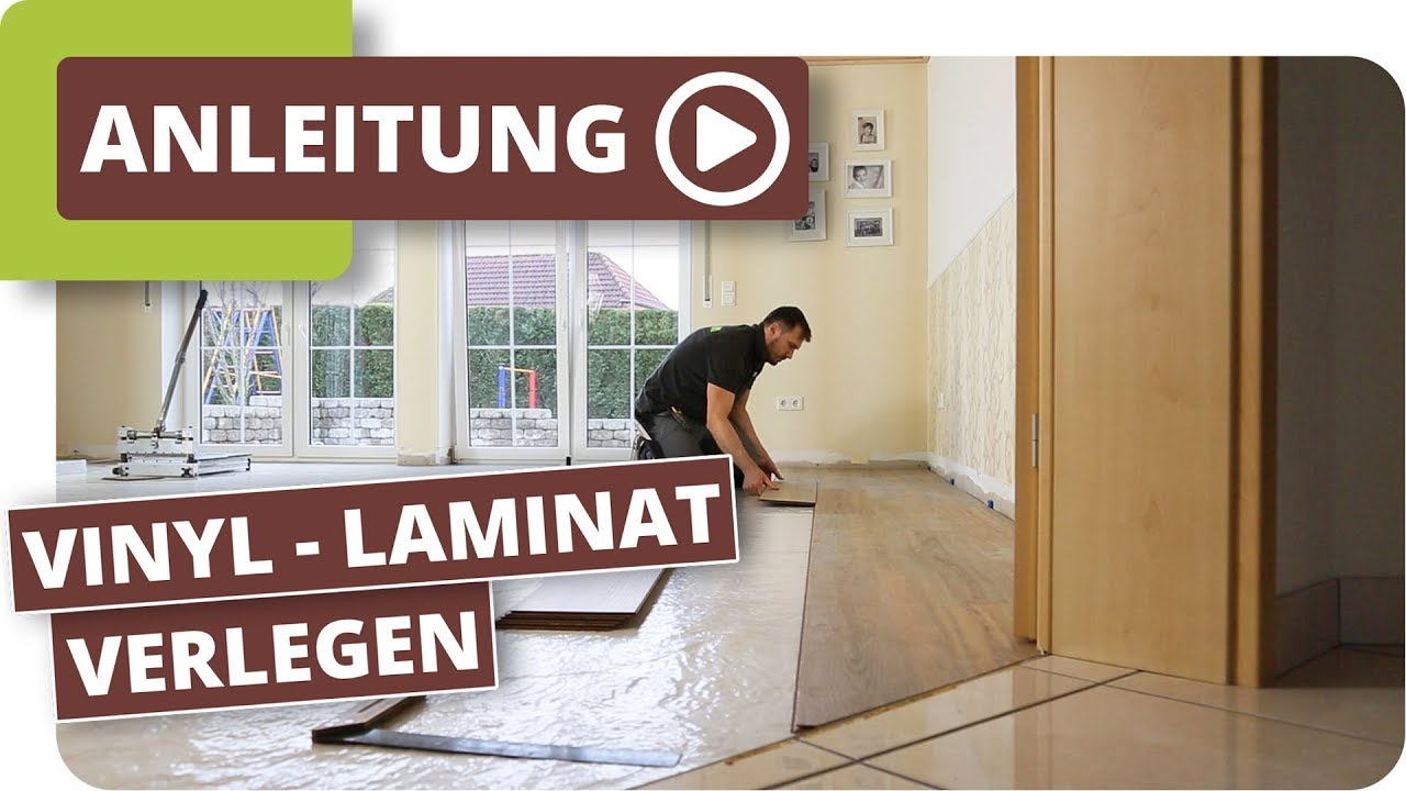 vinyl laminat multilayer verlegen youtube. Black Bedroom Furniture Sets. Home Design Ideas