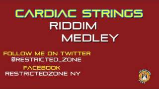CARDIAC STRINGS RIDDIM MIX - REGGAE MEDLEY - SEPTEMBER 2011