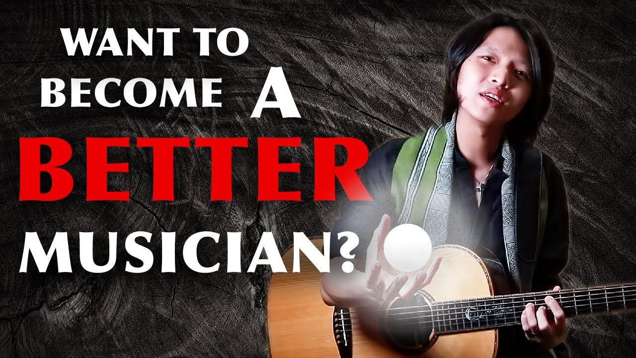 How to Become a Better MUSICIAN for Guitarists (Elevate Your Playing to the Next Level FAST!)