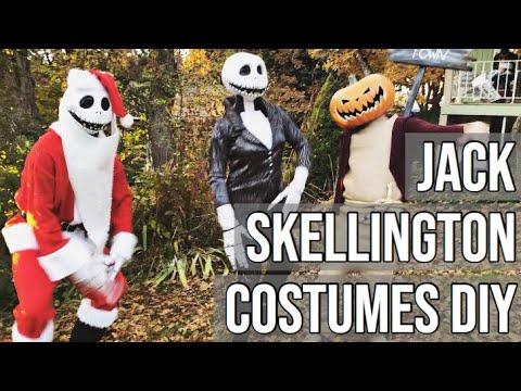 JACK SKELLINGTON COSTUMES DIY | Part 3 Nightmare Before Christmas Series