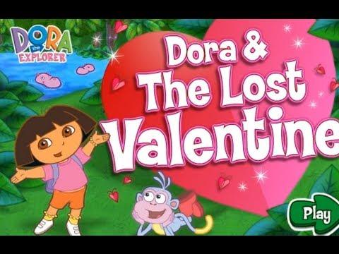 Dora The Explorer - Dora & The Lost Valentine -dora games kids ...