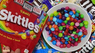 Candy Mix M&M Skittles with Kids Rhymes from Ishfi