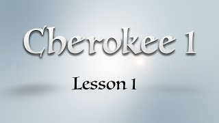 Cherokee 1