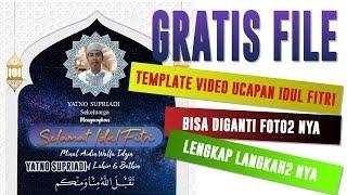 Mudah Banget!!! Buat Video Ucapan Idul Fitri 2019 Dengan Power Point | Gratis Template Ppt