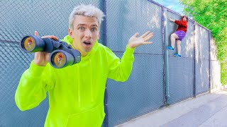 SEARCHING FOR MYSTERY NEIGHBOR to REVEAL ELLEN'S TRUE IDENTITY!! (Who Is She?)
