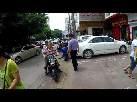 Chaos and Confusion on the streets of Nanning City