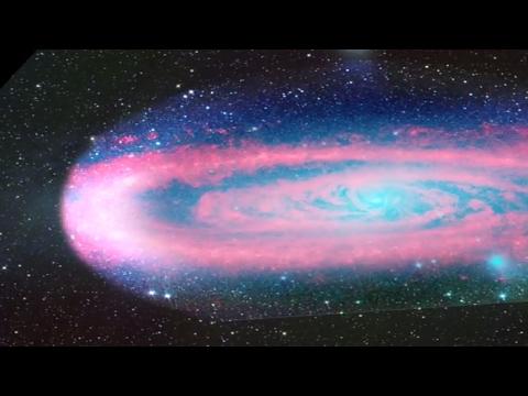 Fade to Red | Andromeda Galaxy | NASA Spitzer