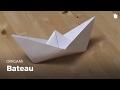 Faire Un Bateau En Papier | Origami