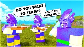 They Tried To TRICK Me And This Is What Happened... ROBLOX Booga Booga