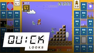 Super Mario Bros. 35: Quick Look (Video Game Video Review)