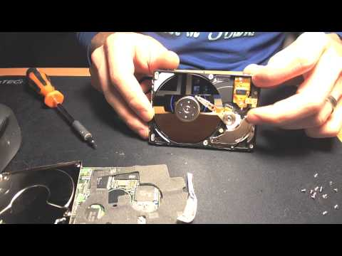 Hitachi laptop Hard Drive dismantle HD