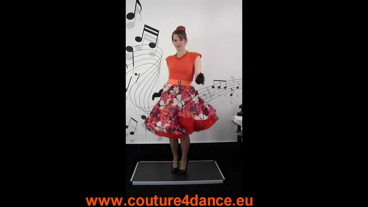 Tellerrock / Circleskirt Sommerwind +Top Amy + Petticoat Sissi