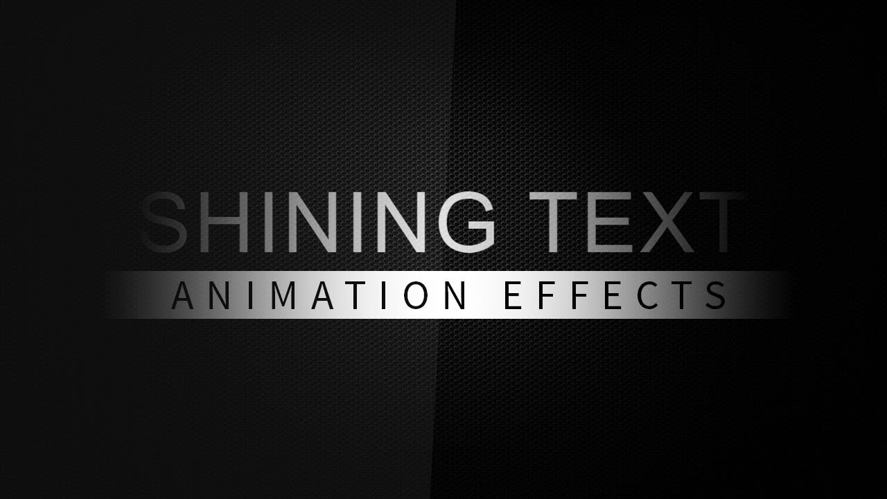 Shining Text Animation Effects | Html CSS tutorial
