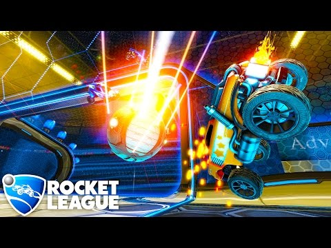 HikePlays: Rocket League - Epic Multiplayer Domination Gameplay