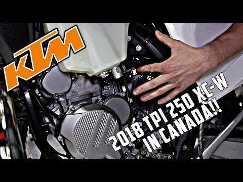 2018 KTM TPI 250 XCW Now in Canada!