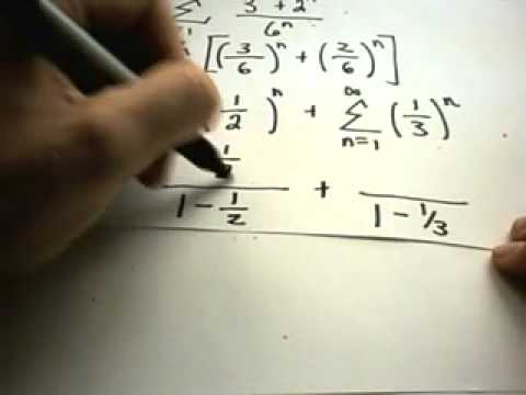 Geometric Series and the Test for Divergence - Part 2