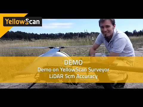 YellowScan Surveyor LiDAR 5cm accuracy demo hosted by Juniper Unmanned and Pulse Aerospace