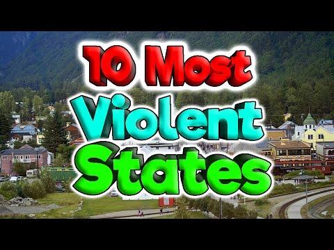 Most Violent States for 2020