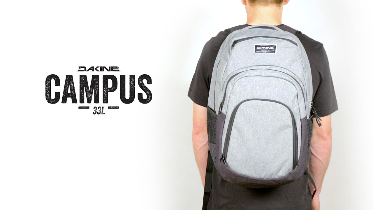a4bfd9d28c44f Dakine Campus 33L Backpack - YouTube