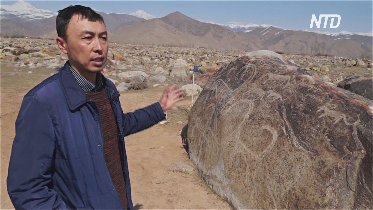 Сад камней в Кыргызстане: 4000 петроглифов из тысячелетнего ...