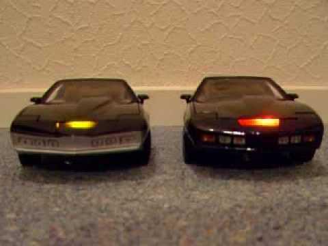 kitt and karr 1 18th model knight rider cars youtube. Black Bedroom Furniture Sets. Home Design Ideas