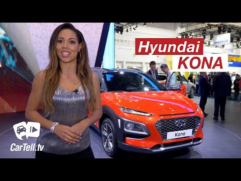 2018 Hyundai Kona New Small SUV CarTell.tv