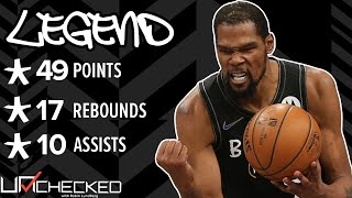 Kevin Durant Has His Greatest Game EVER VS. Bucks