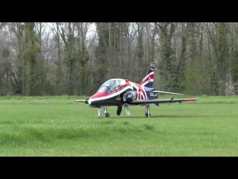 RC JET BAe HAWK by Skymaster