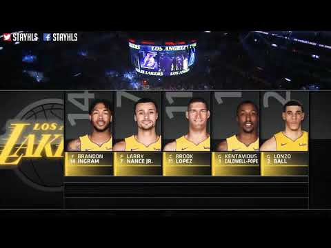 NBA Highlights Golden States Versus Los Angeles Lakers