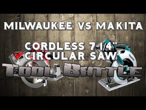 Milwaukee M18 Impact Driver Gegen Makita Circular