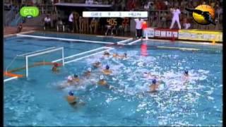 Greece 14 Hungary 7 World jr Champs. 2011 Quarters water polo